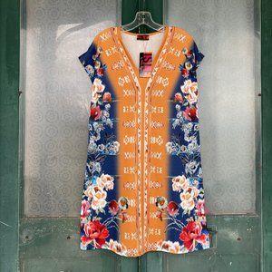 Isle by Melis Kozan V-Neck Dress